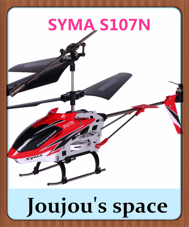 SYMA S107N The best and most easily controlled 3.5CH Indoor RC Helicopter so far, Free shipping(China (Mainland))