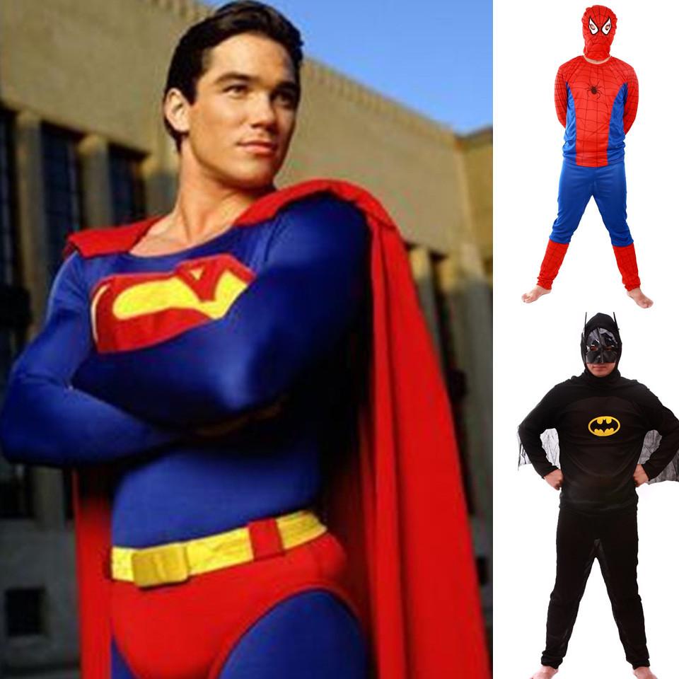 Disfraz Superman Adulto Adulto Superman Spiderman