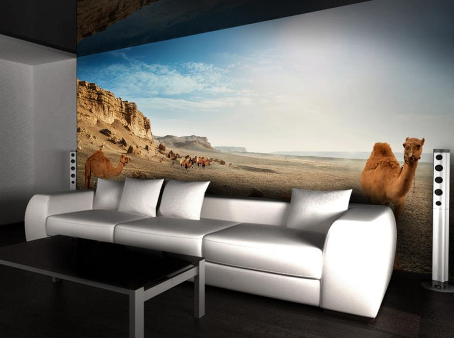 Online get cheap desert wall mural for Cheap wallpaper mural