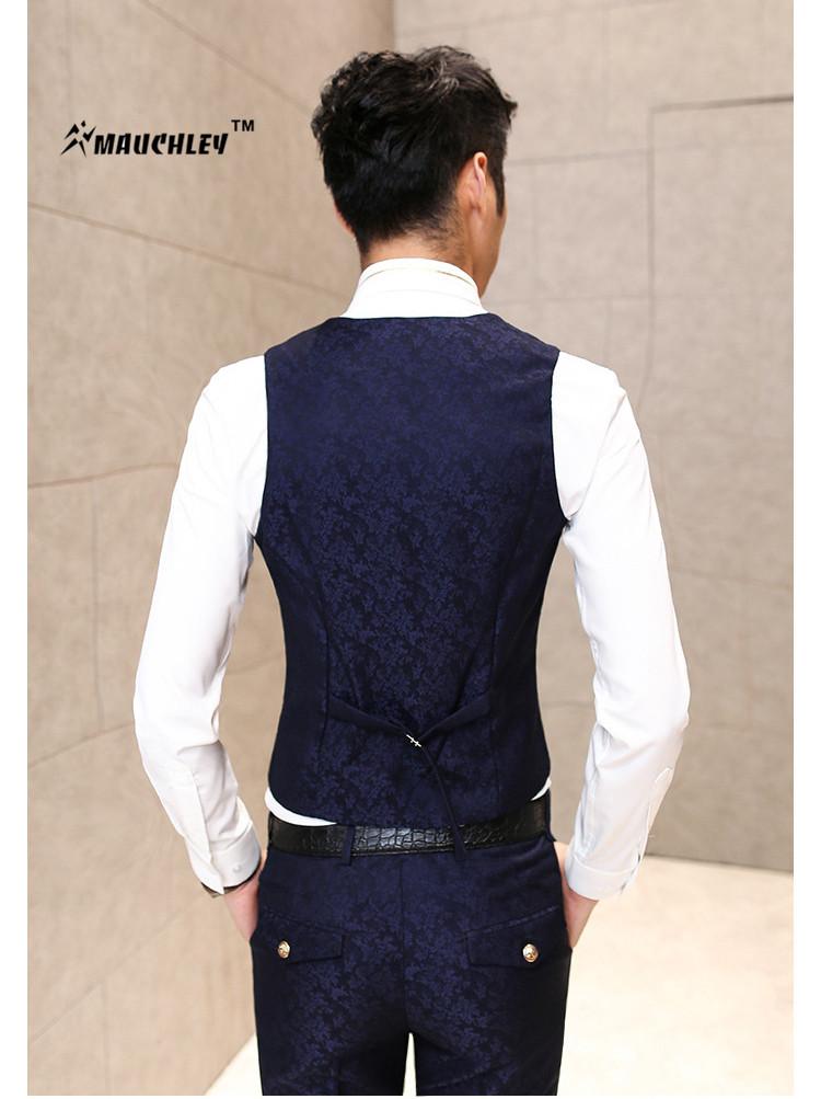 HTB12UMFQpXXXXbaaXXXq6xXFXXXS - MAUCHLEY Prom Mens Suit With Pants Burgundy Floral Jacquard Wedding Suits for Men Slim Fit 3 Pieces / Set (Jacket+Vest+Pants)
