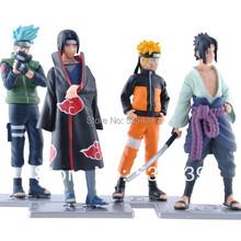 Buy NEW Hot 4pcs/set Naruto 12cm kakashi itachi Uchiha Sasuke 19th Collection Action Figure toys Christmas gift for $8.79 in AliExpress store