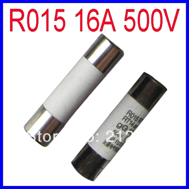 Ceramic Fuse R015 16A 500V 10*38mm,Safety Wire,Fuse Wire<br><br>Aliexpress