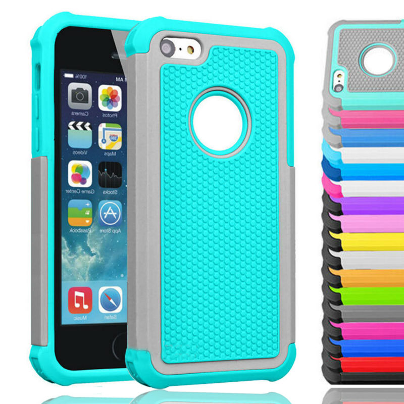 Silicone Shockproof for iPhone 5C Cases Rugged Rubber Protection Cover Heavy Duty Hard PC Cases for Apple iPhone 5C Covers Skin(China (Mainland))