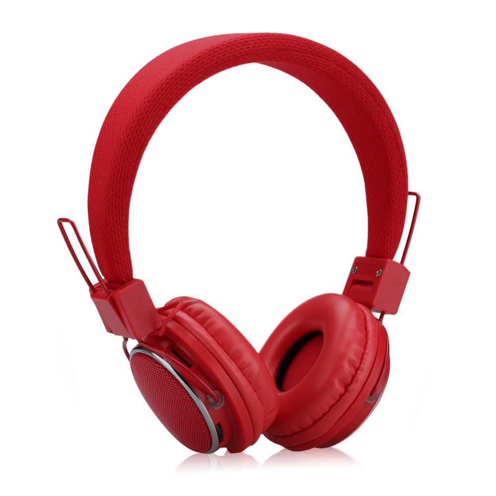 EXCELVAN BT9902E Bluetooth Headphones Stereo Sound auriculares Folding LED music player with TF Card for Android earphones(China (Mainland))