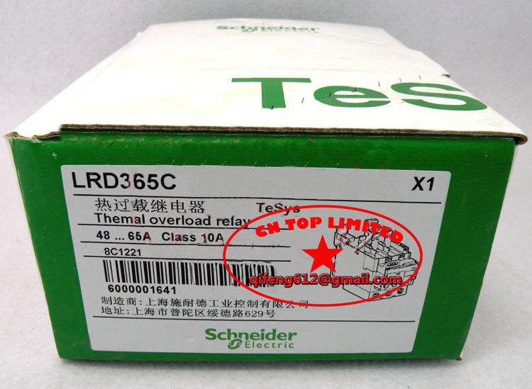 Здесь можно купить  LRD365C TeSys D series Everlink Thermal  Relays New  Электротехническое оборудование и материалы