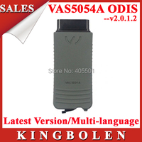 Hotsell 2015 Latest For VW/SEAT/SKODA Diagnostic Scanner VAS5054A Bluetooth VAS 5054a With ODIS V2.0.1.2 DHL Free Shipping