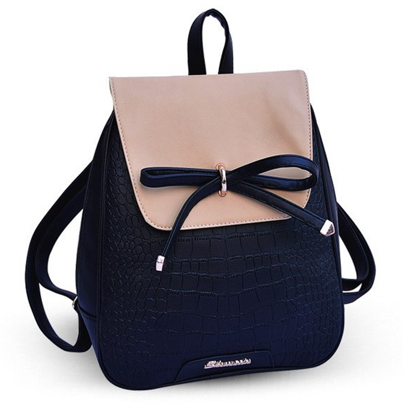New Hot Leather Backpack Famous Brands Backpacks Teenage Girls Women Backpack School Backpack WZ106