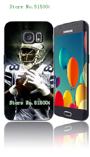 Mobile Phone Cases 2015 Retail 1pc Dez Bryant Protective Hard Case For Samsung S6 Edge Free Shipping(China (Mainland))