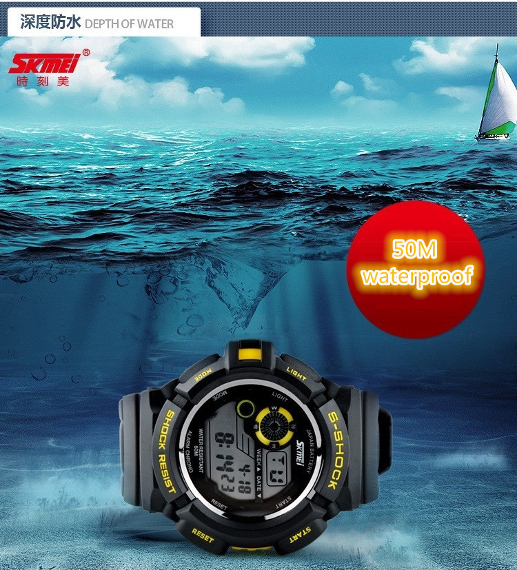SKMEI Men s Military Student LED Digital Watch Mountain Climbing Outdoor New Sport Watches Men Unisex