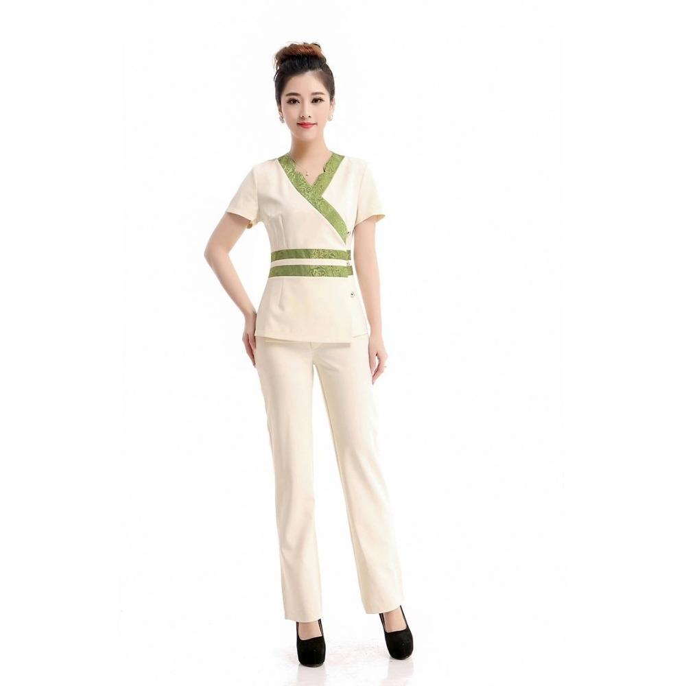 2015 Free shipping summer style Dental Clinic nurse uniforms female medical uniform hospital uniform new style work wears(China (Mainland))