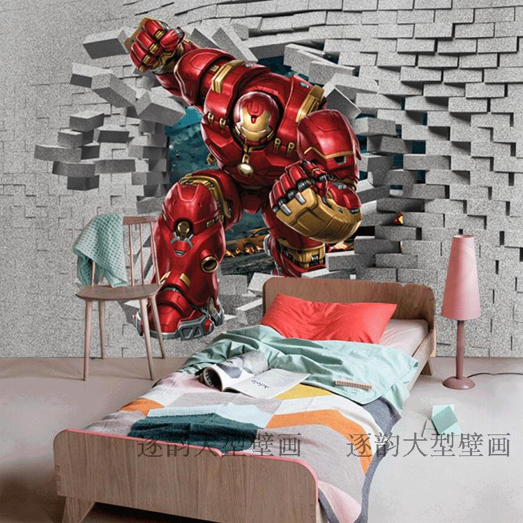 Free shipping 3d stereo custom mural wallpaper creative for Chinese movie mural
