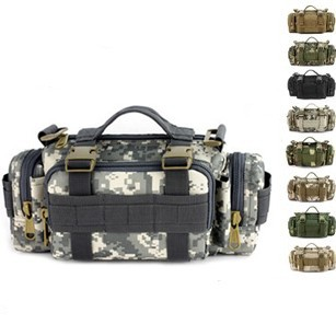 Molle male Camouflage outside sport waist pack female one shoulder cross-body handbag field tactical waist pack tactical gear(China (Mainland))