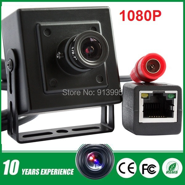 1080P full hd high resolution Onvif 2.0  p2p H.264 mini cam network ip camera audio 1080p with 2.8mm lens for home security <br><br>Aliexpress