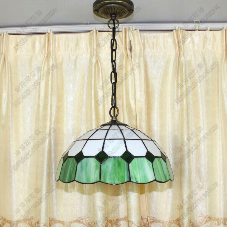 promotion Tiffany lighting lamps simple lattice hallway lamp bar ...