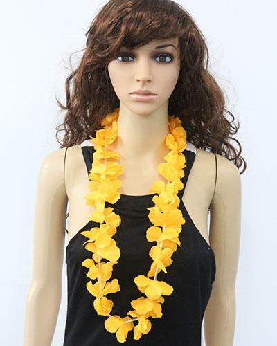 50pcs party supplies hawaiian flower lei garland hawaii wreath cheerleading products hawaii necklace HH0006
