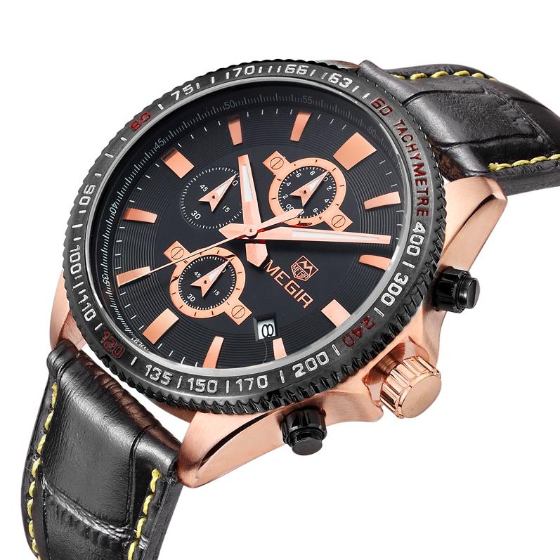 Megir relojes hombre relogio 3001  oem relojes hombre relogio lcd dz6217 dz7080