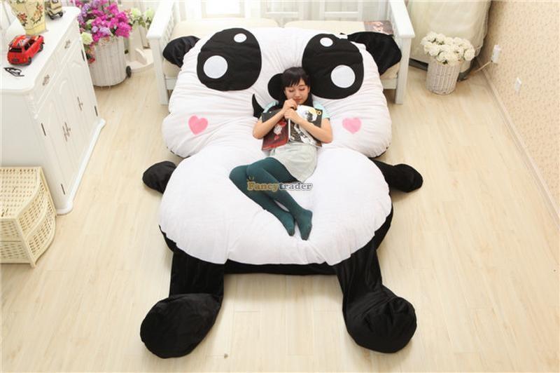 Fancytrader 210cm X 150cm Super Cute Huge Giant Panda Tatami Carpet Sofa Bed Free Shipping FT90293<br><br>Aliexpress