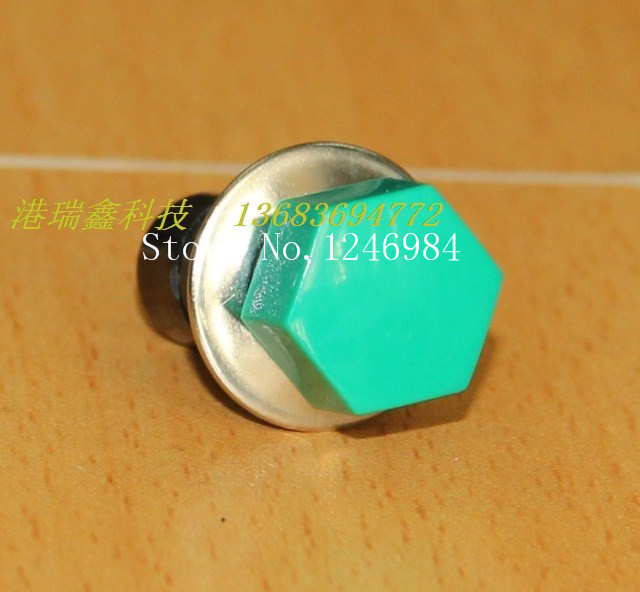 [SA]Highly trigger button switch M12 round green button to reset the switch without lock overstock PB302B { }--200pcs/lot<br><br>Aliexpress