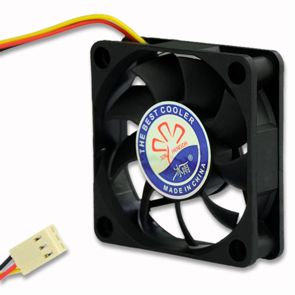 12V DC high quality Best silent quiet pc case cooling fans 60x60x15mm plug computer coolers 3 pin Connector<br><br>Aliexpress