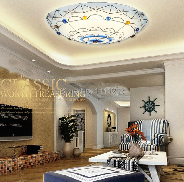 Wall Lamp For Toddler Room : Mediterranean sea lamps night light Ceiling lamp oil Painted Kids Bedroom Living room wall ...