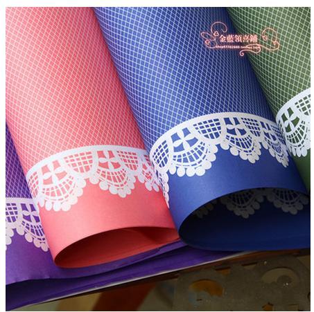 2016 New arrival multicolor border line lace edge decorative design gift household decoration paper 20pcs/lot(China (Mainland))