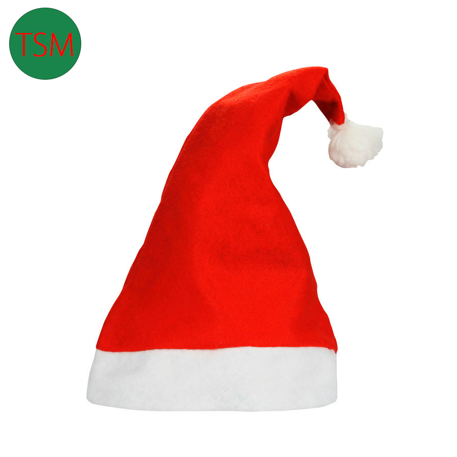 Гаджет  5pcs/lot Christmas Adult & Kids Christmas Santa hats Children cap Xmas Hat Tracking Fast Shipping None Дом и Сад