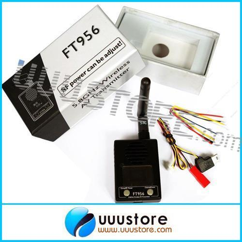 FT956 5.8G 800mW 32CH Wireless RF Power Adjust FPV AV Wireless Transmitter Free Shipping(China (Mainland))
