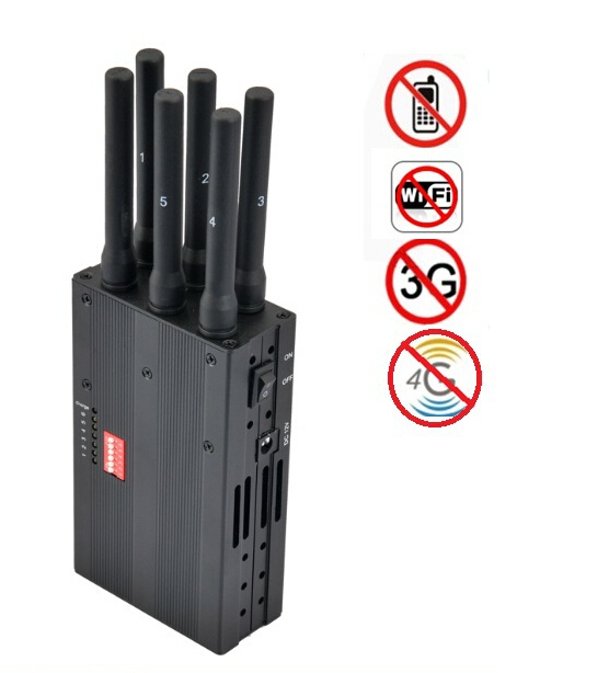 Phone jammer 4g iphone | 17W Mobile phone Signal Jammer 8 Antennas Adjustable 3G 4G Phone signal Blocker with 2.4G GPS