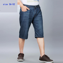 Buy new arrival Summer thin fashion casual high qualtiy cotton men Denim shorts male tide loose plus size 36 -46 48 50 52 DLM1378 for $26.84 in AliExpress store