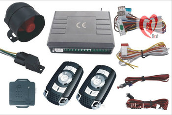 Free Shipping BY  DHL! best price, push button start/stop, PKE car alarm system wtih 2 antennas, one year warranty