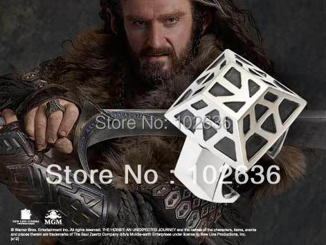 Hobbit Lord of the Rings THORIN Dwarven Ring<br><br>Aliexpress