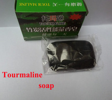 2015 2pcs lot active energy bamboo Tourmaline soap For ance Face Body Beauty Healthy Care tourmaline