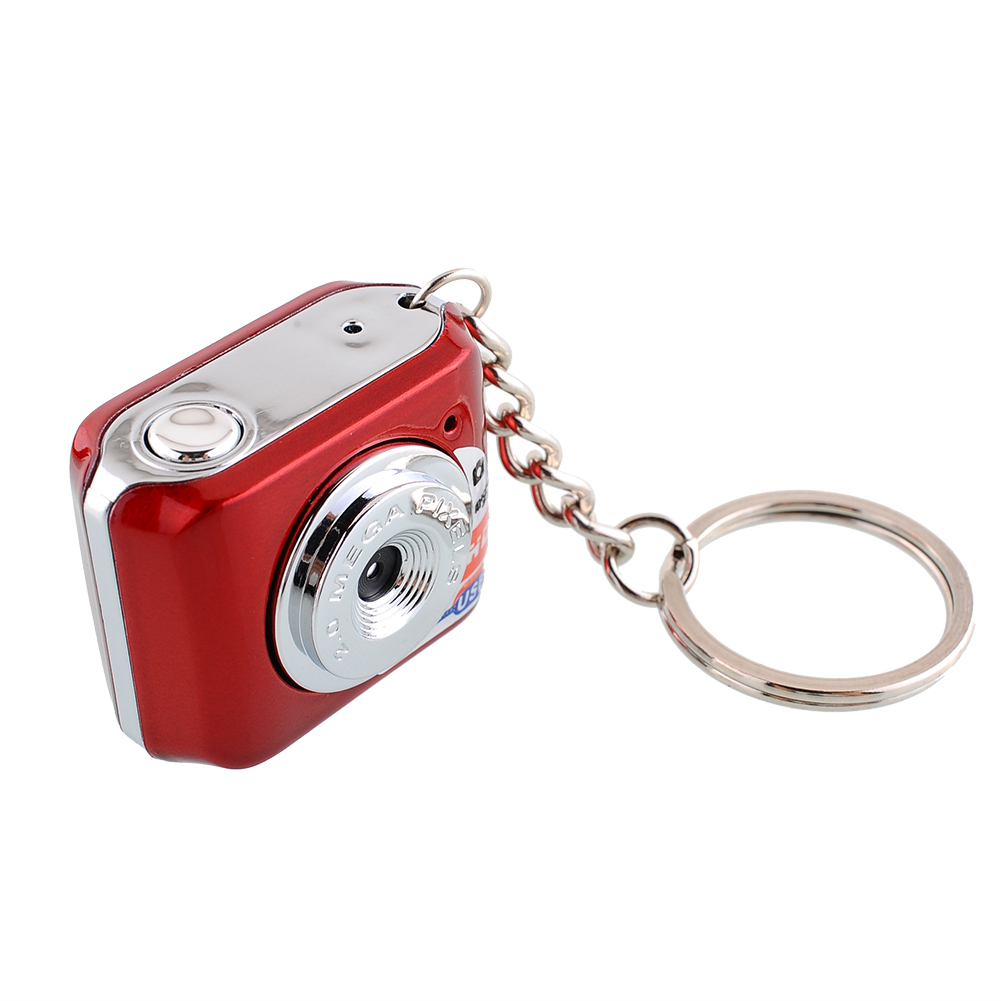 Red NEW Mini Digital Camera Video World Smallest DVR Webcam High Quality Operating System Brand New(China (Mainland))