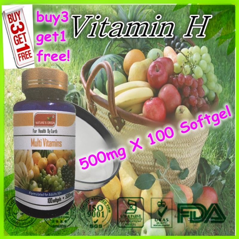(Buy 3 Get 1 Free) Details about the natural multivitamin supplement 500mg X 100 Softgel capsules<br><br>Aliexpress