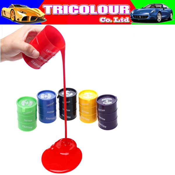 Wholesale 48pcs/lot Halloween colorful trick paint slime prank movie property barrel slime Funny gag tricky toys 50g#LS161(China (Mainland))