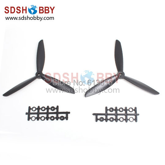 7045 3 Blades Colored Clockwise and Counterclockwise Propellers 7*4.5 for Quadcopter X450/ X600/ Multicopter One Pair<br><br>Aliexpress