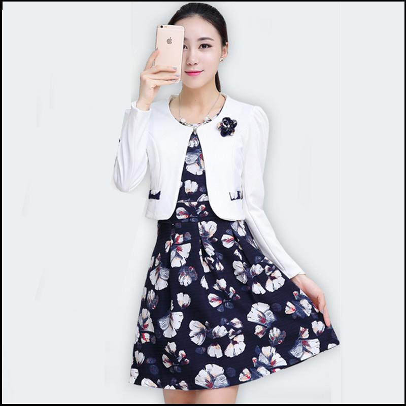 Creative Summer Style Fashion Women Skirt Suits New 2015 Korean Career Business OL Blazer And Skirt ...