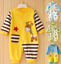 Baby Rompers Carters Brand Long Sleeves Fleece Infant Coveralls Newborn Boy Girl Clothes Baby Clothing