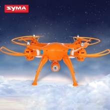 Syma X8C Camera Drones Venture New Package 4CH 2.4GHz 6 Axis RC Quadcopter with HD Camera 360 Degree Eversion Helicopter VS X8W