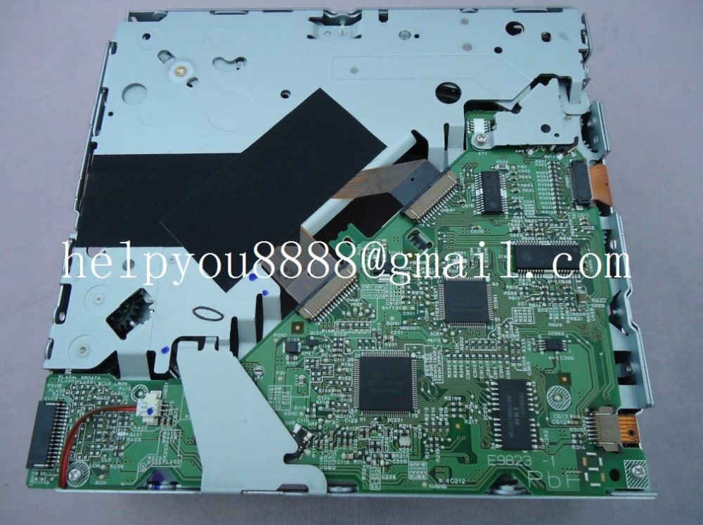 Free ship new Matsushita 6 disc cd changer mechanism E9823-1 drive loader For Mazda CX9 VW Q7 A4L CX-CA1697G Car mp3 CD player(China (Mainland))