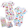 Colorful Baby Bodysuits 0M 12M Shortleeve Boy Girl Jumpsuit Infant Clothing Creppers Body Baby Rumper Children