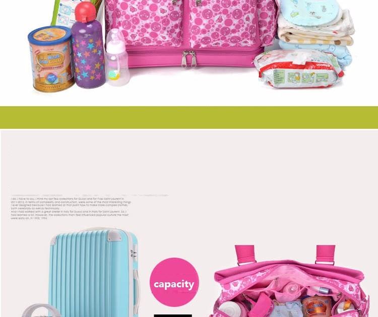 ซื้อ มัลติฟังก์ชั่bolsa maternidadeถุงผ้าอ้อมเด็กผ้าอ้อมกระเป๋าเดินทางแม่คลอดกระเป๋าสุภาพสตรีกระเป๋าของMessengerกระเป๋าtote