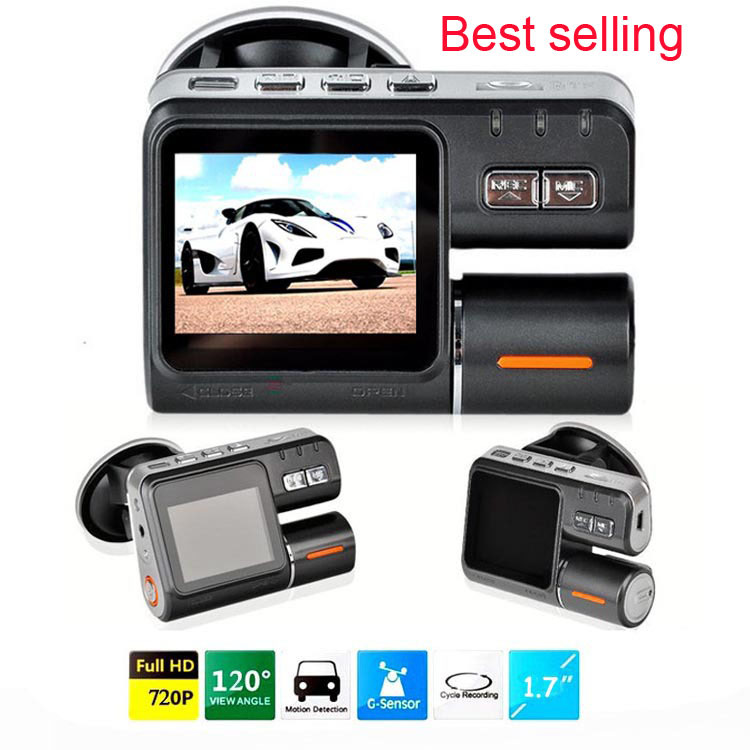 High Quality Full HD 720P Car Dvr i1000 Dash DVR Car Styling Dvrs Video Camera Recorder Crash Camcorder With G-sensor()
