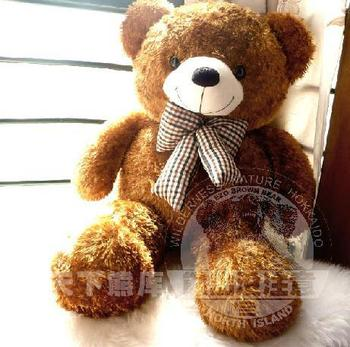 Free shipping FULL SIZE 80cm Giant Teddy Bear, plush toy, stuffed toy, valentine's gifts