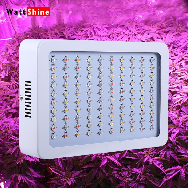 High power 300w LED Grow Light Full Spectrum Growth and Bloom Mode Energy Saving 3w LED Panel For Indoor Plant(China (Mainland))