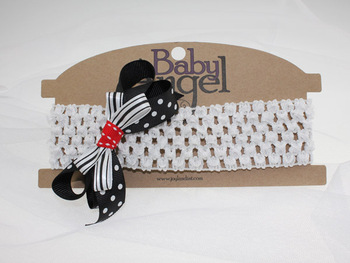 Min Order $9.9, Elastic Headband With Flower For Girls, Free Shipping