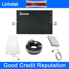 Lintratek 2016 Newest 3G 4G UMTS 850MHz AWS 1700MHz Cell Phones Booster Kit GSM 850 1700 Signal Amplifier Mobile Repeater - Phone Store store