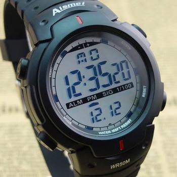 Новые высокое качество цифровые часы, Водонепроницаемые часы спортивные часы цифровой хронограф для мужчин