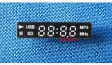 Free Shipping!!! 4-bit with  clock digital tube FM USB SD(China (Mainland))