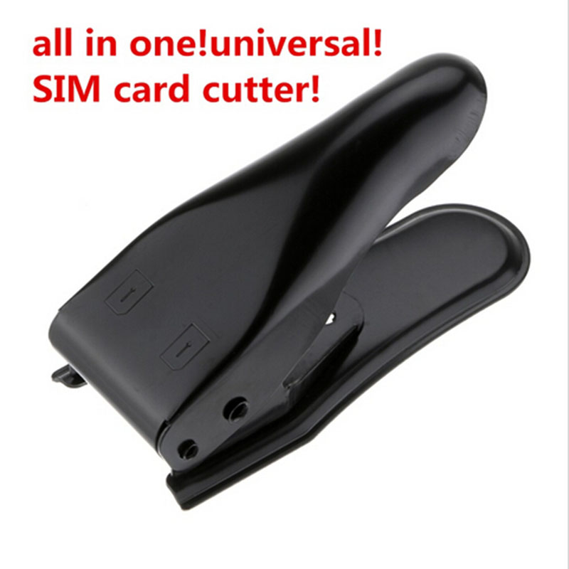 Universal Dual Micro To Sim Card Cutter 2 In 1 Sim Adapter For iPhone 6 Plus 5S 5C 5 4S Ipad 2 3 4 Cortador Corta Sim Card(China (Mainland))